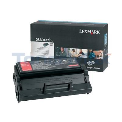 LEXMARK E320 TONER CARTRIDGE BLACK HY